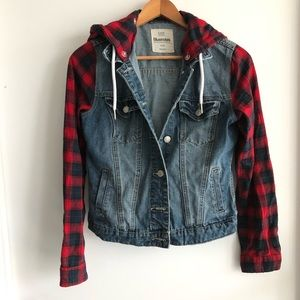 Bluenotes Plaid/Jean Jacket